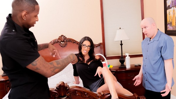 Mom's Cuckold #19 Scene 4 Porn DVD on Mile High Media with Dava Foxx, Jon Jon