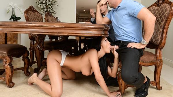 Preacher's Wife Goes Wild - Brazzers Porn Scene