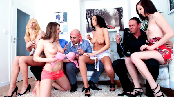 Bachelor Party Orgy #05 Scene 2 Porn DVD on Mile High Media with Barbra Sweet, Bella Morgan, Linet Slag, J.J, Mona Lee, Thomas