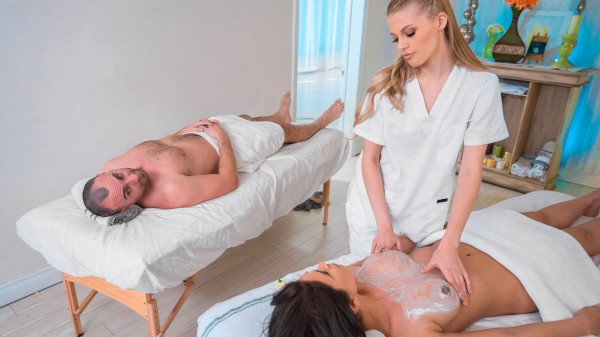 Spa Day Getaway: Episode 1 Hardcore Kings Porn 100% XXX on hardcorekings.com starring Katana Kombat, Sophie Sparks