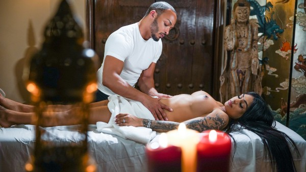 A Magical Touch Shemale DVD on TransSensual with Dillon Diaz, Eva Maxim