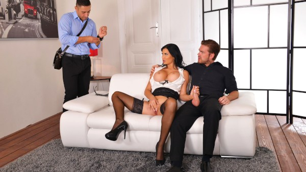 Horny Jasmine Makes Husband Watch Featuring Jasmine Jae, Mugur, Ryan Ryder - Keezmovies Premium