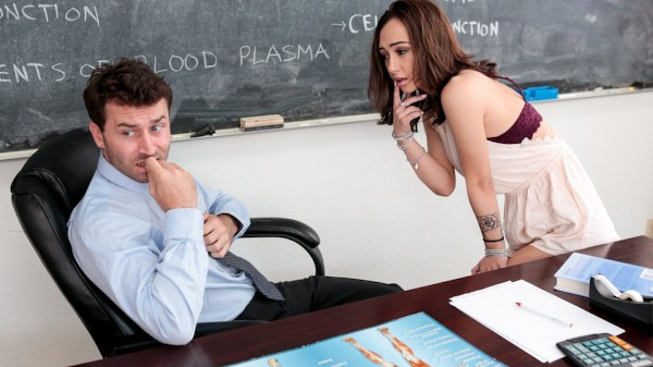Anatomy Tutor Scene 3 Porn DVD on Mile High Media with James Deen, Lily Jordan