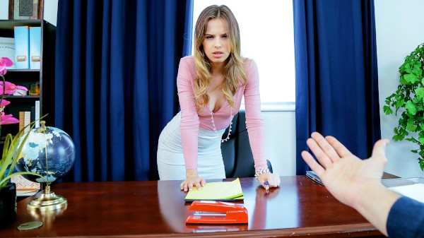 Watch Jillian Janson in Spinner Inspires with Gagging BJ