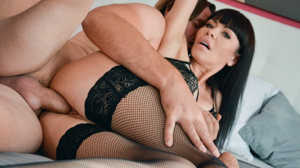 Hot MILF sex in stockings and heels at SexyHub.com