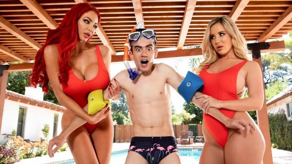 Big Tits Save Lives - Brazzers Porn Scene