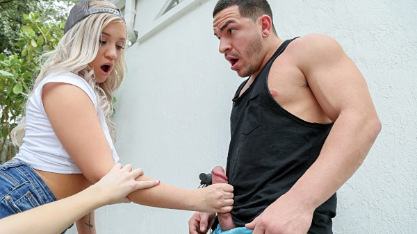 Watch Peter Green, Bailey Brooke, Anastasia Knight in Threesome With Hot Bike Thief