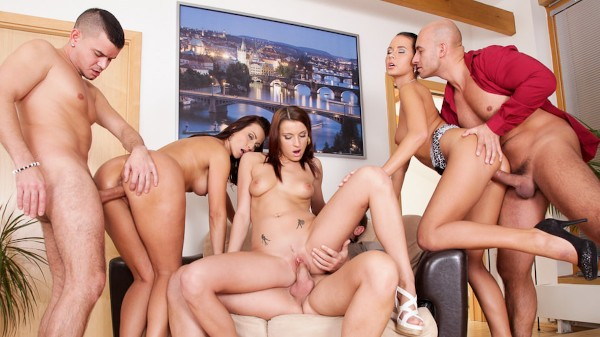 Swingers Orgies #07 Scene 1 Porn DVD on Mile High Media with Ricky Silverado, Neeo, Simone Style, Victoria Daniels, Thomas, Mia Manarote