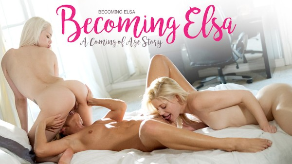 Becoming Elsa Scene 4 Porn DVD on Mile High Media with Charlotte Stokely, Elsa Jean, India Summer