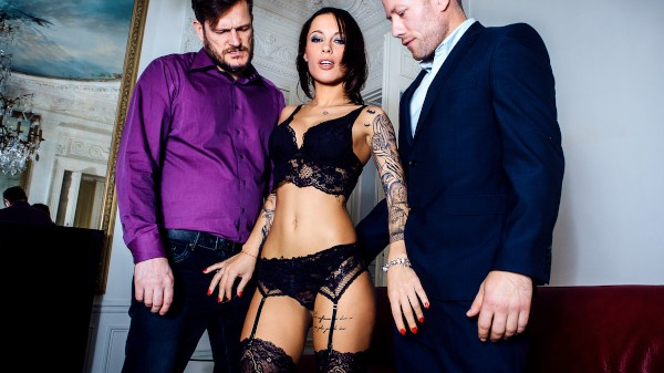 A French Affair - Scene 1 - Nikita Bellucci, Yanick Shaft, Freddy Fox