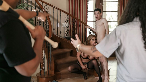 There Goes The Neighborhood Scoundrel - Brazzers Porn Scene