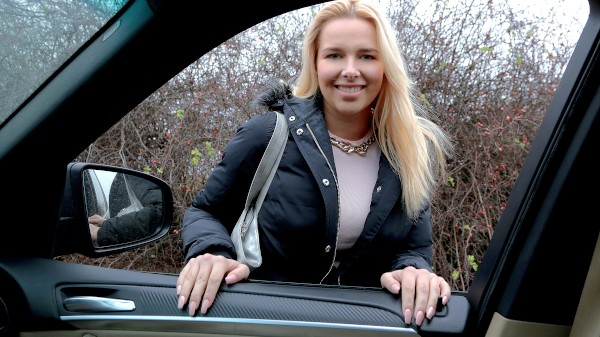 Watch Nikky Dream in Flirty Blonde Fucked in Car