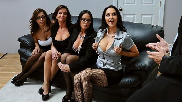 Office 4-Play - Brazzers Porn Scene