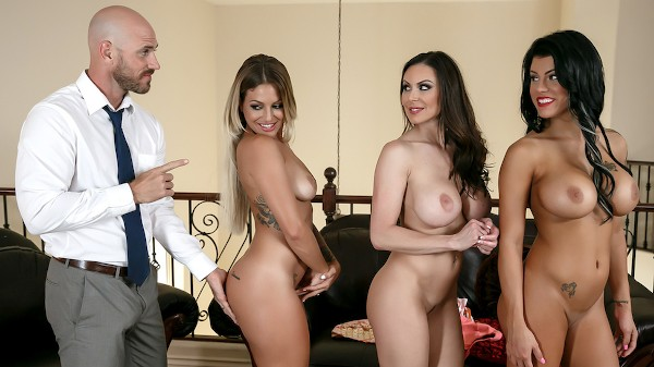 My Three Wives - Brazzers Porn Scene