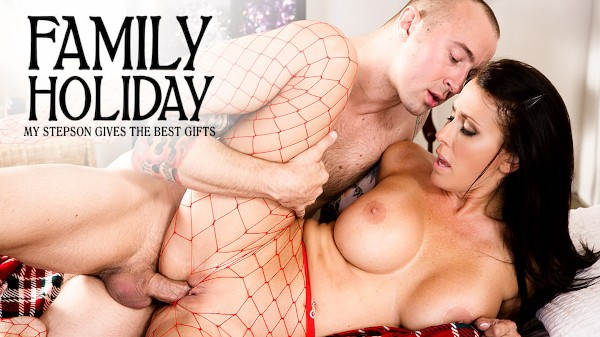 My Stepson Gives the Best Gifts Scene 3 Porn DVD on Mile High Media with Chad Alva, Reagan Foxx