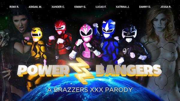 Power Bangers: A XXX Parody - Brazzers Porn Scene