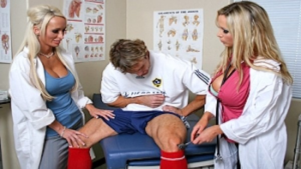 Soccer Fan Doctors - Brazzers Porn Scene