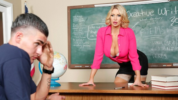 Teaching Miss Darby a Hard Lesson - Brazzers Porn Scene