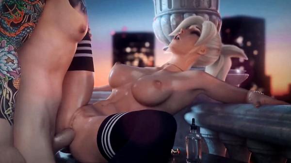 Enjoy Anal Sex at Sunset on Hentaipros.com