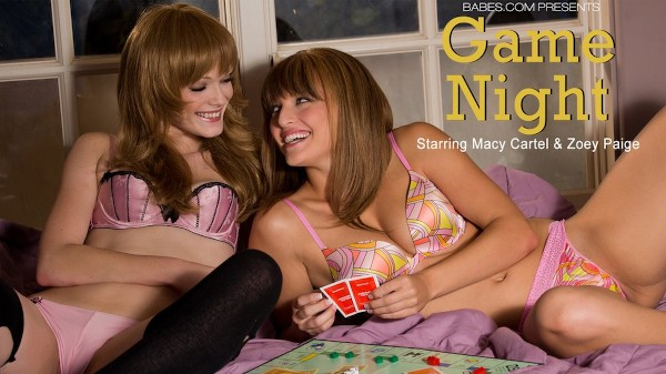 Game Night - Macy Lee, Zoey Paige - Babes