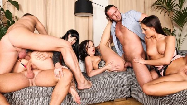5 Incredible Orgies Scene 3 Porn DVD on Mile High Media with Ally Style, Kari, Niki Sweet, Steve Q, Thomas