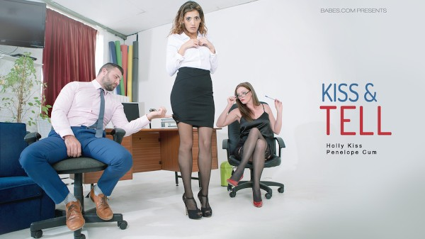 Kiss & Tell - Penelope Cum, Max Deeds, Holly Kiss - Babes