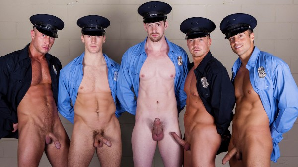 Men In Blue Part 3 - feat Rocco Reed, Johnny Ryder, Connor Kline, Andrew Stark, Liam Magnuson