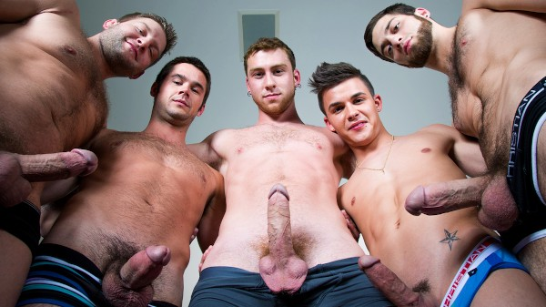 Enjoy Intervention on Twinkpop.com Featuring Connor Maguire, Colby Jansen, Tommy Defendi, Mike De Marko, Andy Taylor