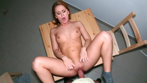 Watch Jenny Manson in Russian redhead takes cash for sex