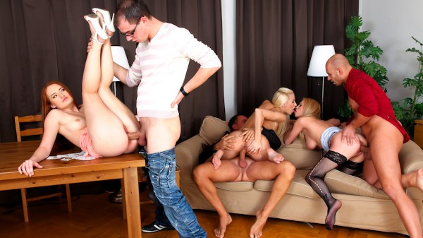Swingers Orgies #03 Scene 3 Porn DVD on Mile High Media with Denisa Heaven, Bella Karina, Yenna Love