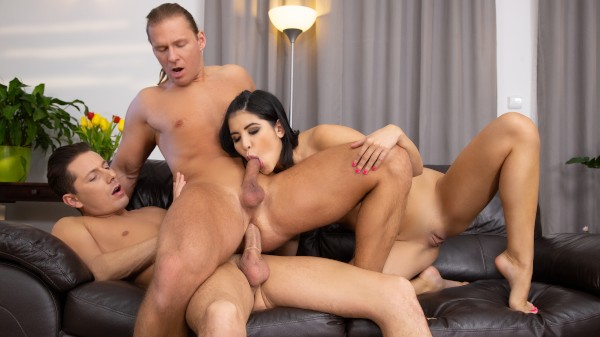 Sex on Display Bisexual Orgy on Bi Empire with Nick Ross