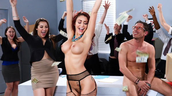 The Whore of Wall Street Ep-2: The Anal Office Queen - Brazzers Porn Scene