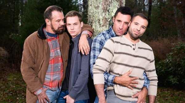 His Daughter's Boyfriend 3 Scene 1 - Max Sargent, Tommy Regan, Nick Capra, Braxton Smith