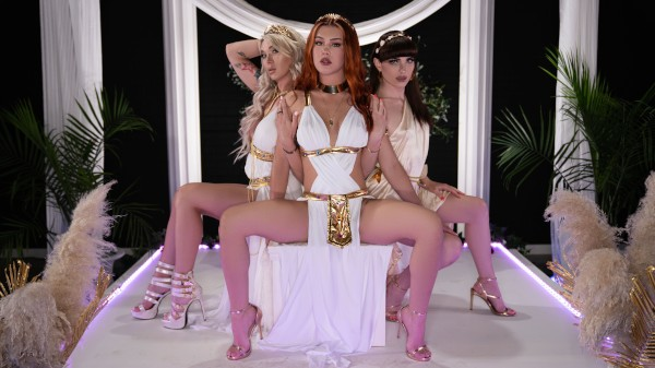 Watch Three Angelic Graces featuring Aubrey Kate, Natalie Mars, Daisy Taylor Transgender Porn