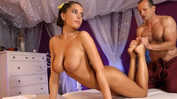 Big tits teen has multiple orgasms at SexyHub.com