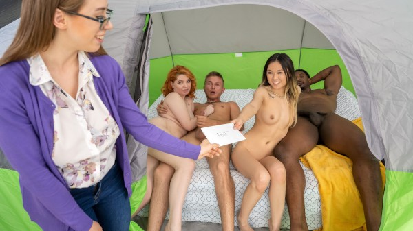 Tag Teaming The Glampers - Brazzers Porn Scene