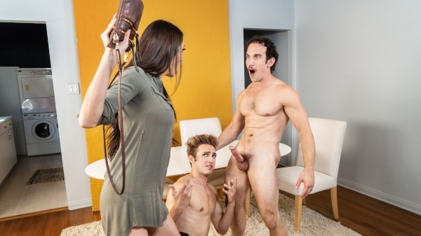 Family Cums First Part 2: Bareback - Bar Addison, Greg Mckeon
