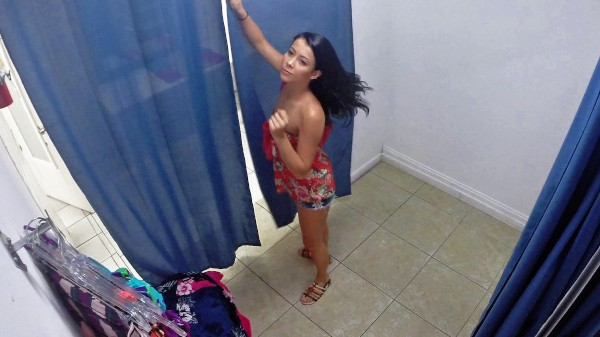 Watch Alaina Kristar in Changing Room Teen on Hidden Camera