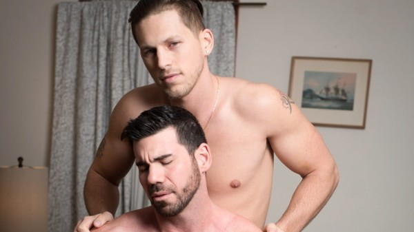 Massage Me Scene 1 - Billy Santoro, Roman Todd