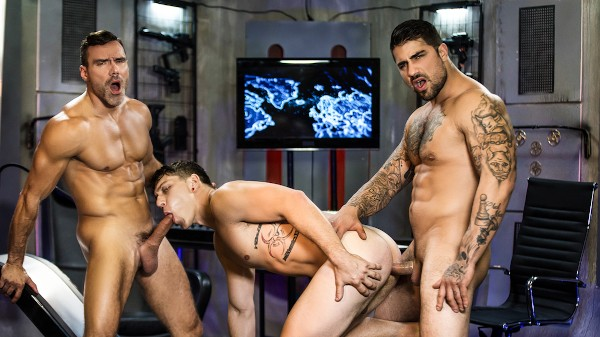 Enjoy Just Dick League : A Gay XXX Parody Part 3 on Twinkpop.com Featuring Ryan Bones, Manuel Skye, Paul Canon
