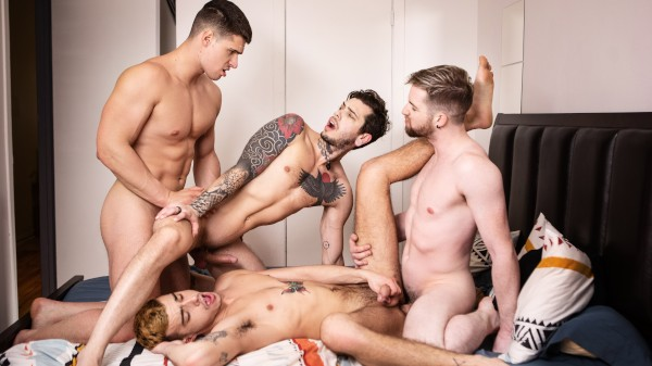 Gawkers Part 2 - Thyle Knoxx , Sean Peek, Malik Delgaty, Dex Parker
