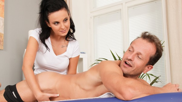 Full Service Massage Scene 3 Porn DVD on Mile High Media with George Uhl, Tara Tattoo