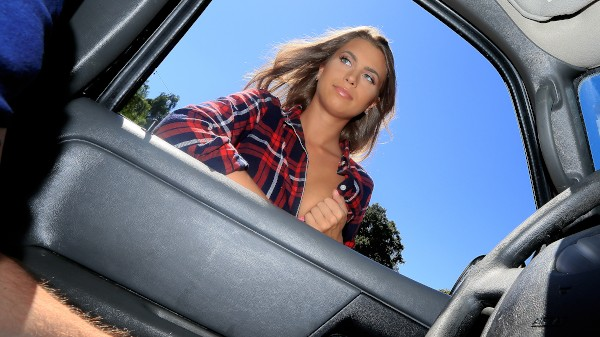 Watch Jill Kassidy in All Natural Texan Fucked in Car