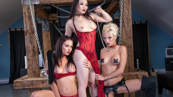 Fetish Dolls #04 Scene 5 Porn DVD on Mile High Media with Erika Heaven, Yumi Yu, Juicy Pearl