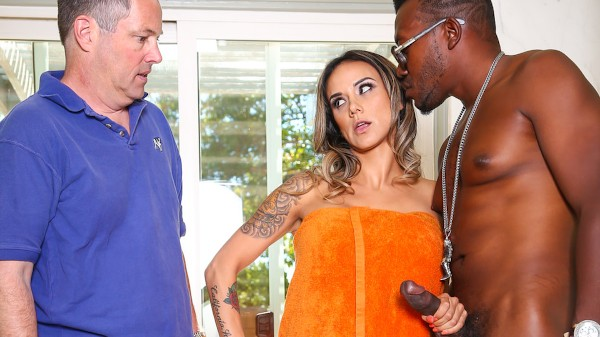 Mom's Cuckold #16 Scene 2 Porn DVD on Mile High Media with Moe Johnson, Nadia Styles