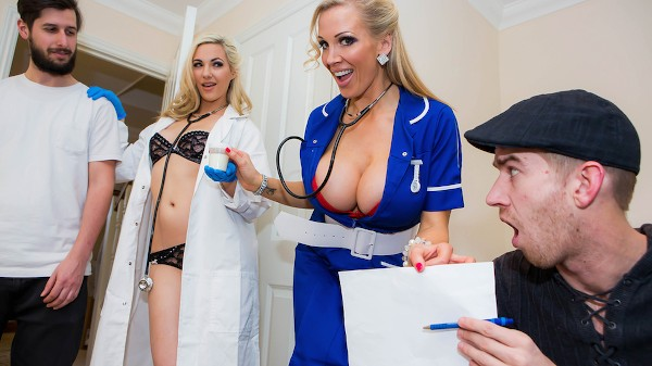 Sperm Bank Deposit - Brazzers Porn Scene