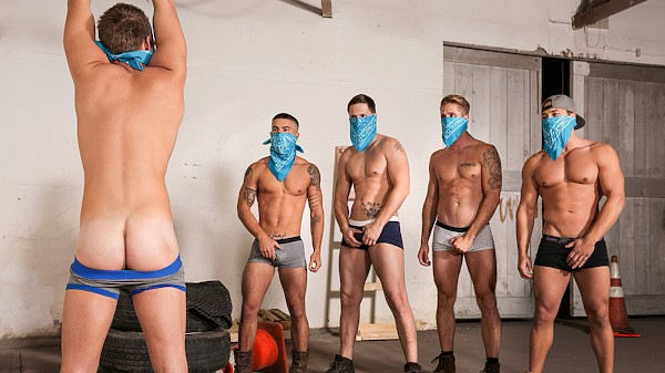 Watch Roman Todd, Leon Lewis, Vadim Black, Wesley Woods in Betrayed Part #4, Scene 1