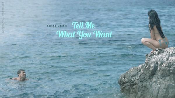Tell Me What You Want - Taissia Shanti, Kristof Cale - Babes