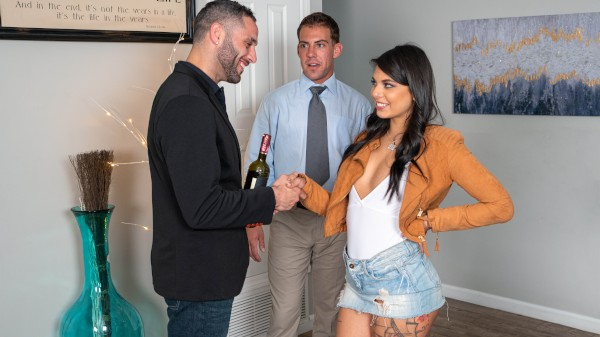 It's in the Bag with Gina Valentina, Damon Dice at sneakysex.com