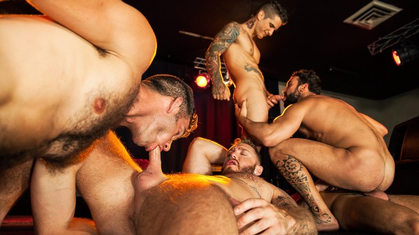 Thirst Part 4 - feat Damien Crosse, Pierre Fitch, Jimmy Fanz, Dominique Hansson, Abraham Al Malek